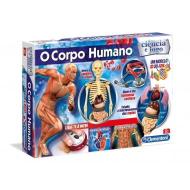 Ciência e Jogo - O Corpo Humano - clementoni