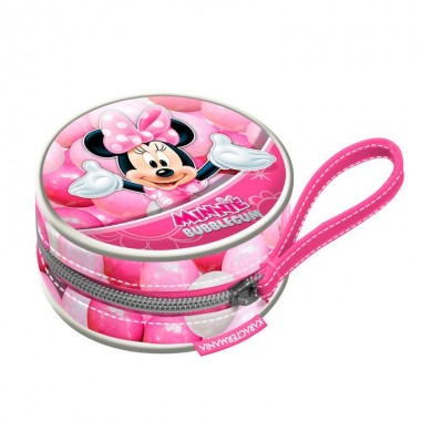 Porta moedas Minnie Disney Bubblegum