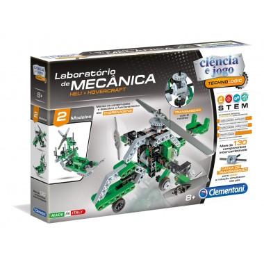 Laboratório de Mecânica - Heli & Hovercraft - Clementoni