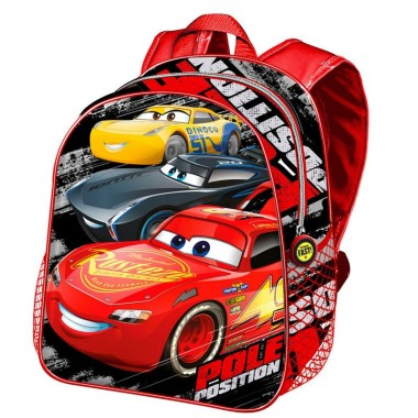 Mochila Pré-escolar Cars 3