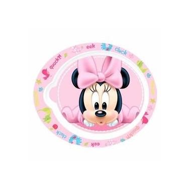 Prato de plástico - Mickey / Minnie