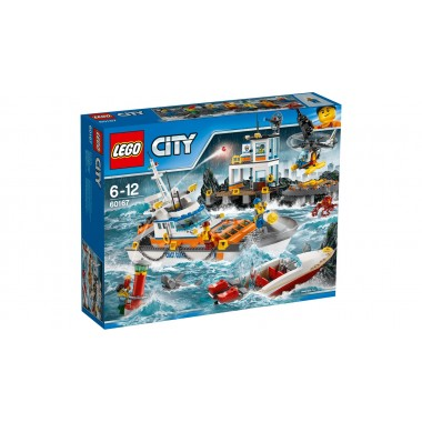 LEGO City - Quartel da guarda costeira