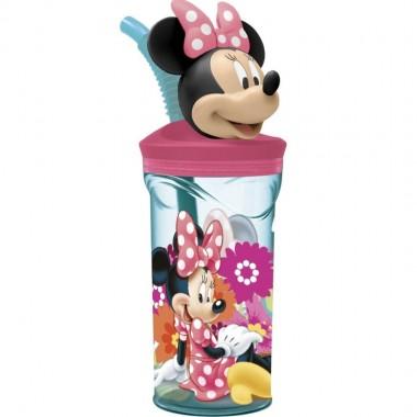 Copo com Figura 3D Minnie