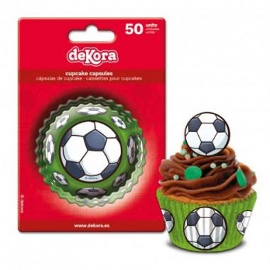 Formas Cupcake Futebol