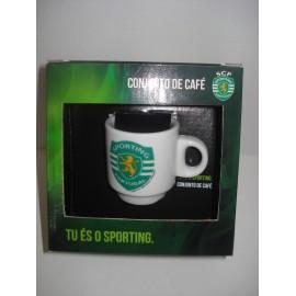 Conjunto de café Sporting