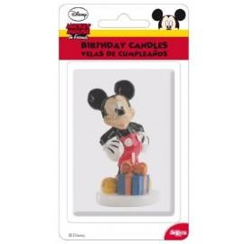 Vela de Aniversário Mickey Mouse