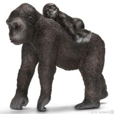 Gorila Fêmea c/ bebé- Schleich