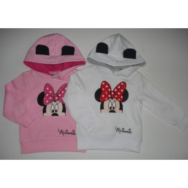 Sweat c/ carapuço Minnie Mouse