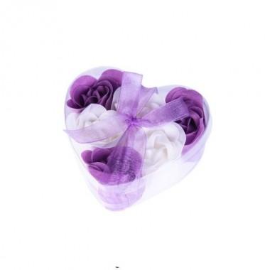 Embalagem c/ 6 flores de Sabão
