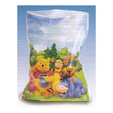 Sacos para festa Winnie e Amigos