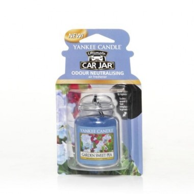 Yankee Candle - Ultimate Car Gel ( Garden Sweet Pea )