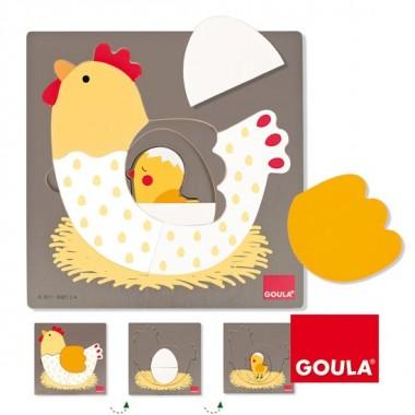 Jogo/Quebra Cabeças - Goula