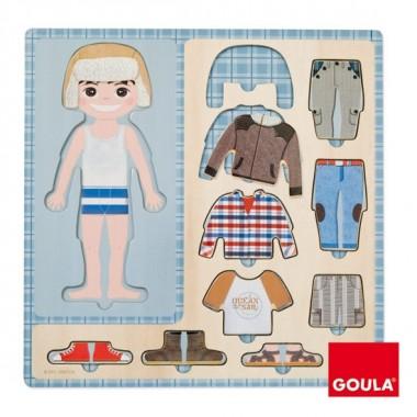 Puzzle Vestido de Menina - Goula