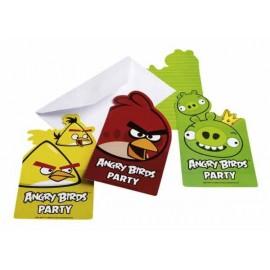 Convites - Angry Birds