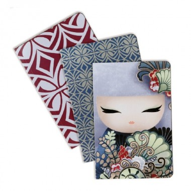 Packs de 3 blocos  Kimmidoll - Airi