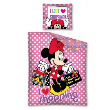 Capa de Endredon Minnie Disney Love Shopping