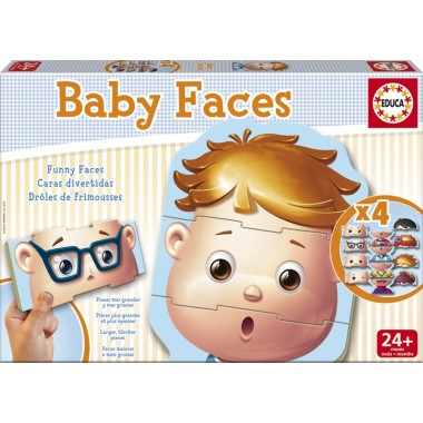 Baby Faces - Educa