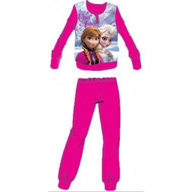 Pijama Micropolar Frozen - Anna e Elsa