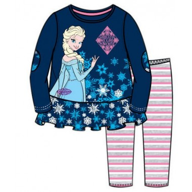 Conjunto Túnica + Legging - Frozen Disney - Elsa