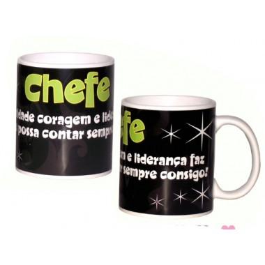 """Caneca """"Chefe"""""""