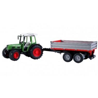 Bruder - Tractor com reboque basculante