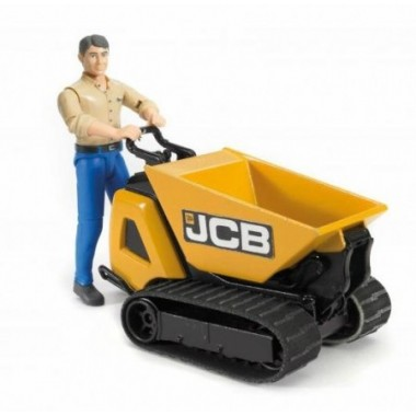 Bruder - Micro carregadora JCB HTD