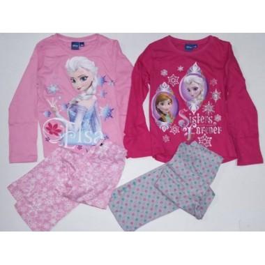 Pijama Algodão Frozen - Anna e Elsa