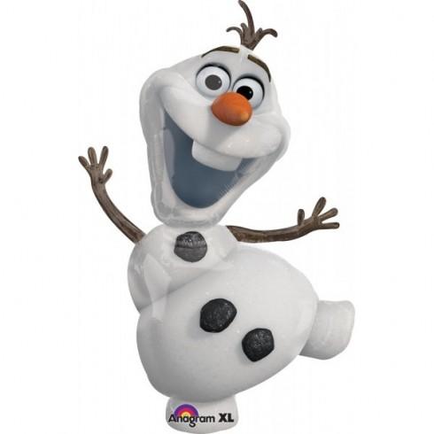 Balão Metálico Olaf Boneco de Neve - Frozen