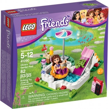 LEGO Friends - A piscina do Jardim  da Olivia