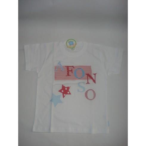 T-shirt Patchwork AFONSO