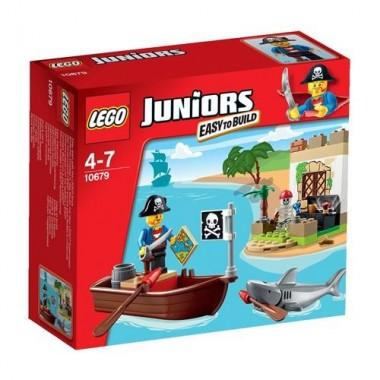 Lego Juniors - Piratas em Caça ao Tesouro