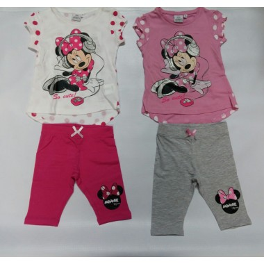 Pijama Minnie - Legging 3/4
