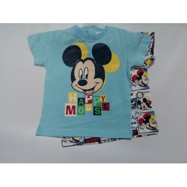Conjunto 2 - T-Shirt Mickey Mouse