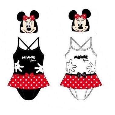 Conjunto de Touca + Fato de Banho - Minnie Mouse