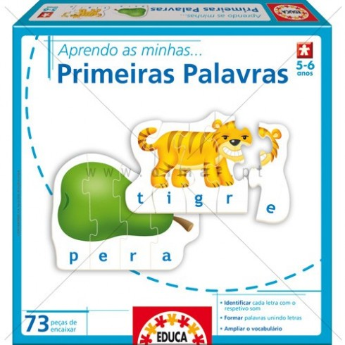 Aprendo... AS MINHAS PRIMEIRAS PALAVRAS - Educa