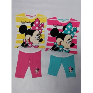 Conjunto T-shirt + Legging -  Minnie