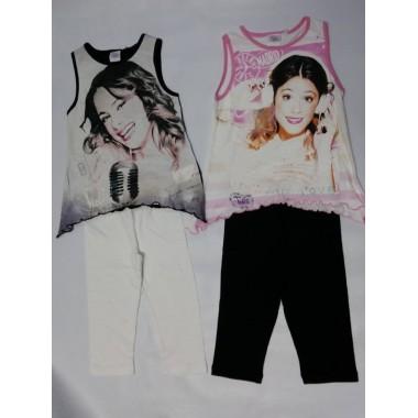 Conjunto T-shirt + Legging - Violetta