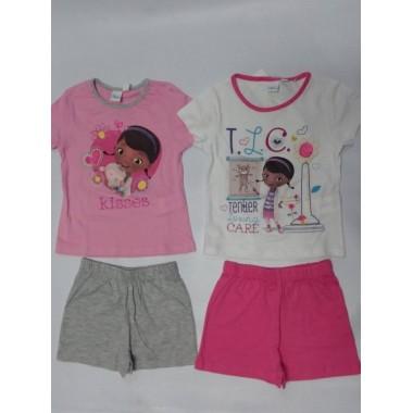 Conjunto de T-shirt + calção -Doutora Brinquedos
