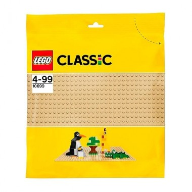 LEGO Classic - Base Cor Areia