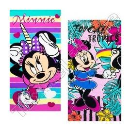 Toalha de praia Minnie Mouse em microfibra