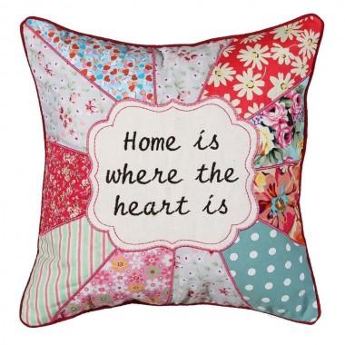 Almofada quadrada patchwork - Home