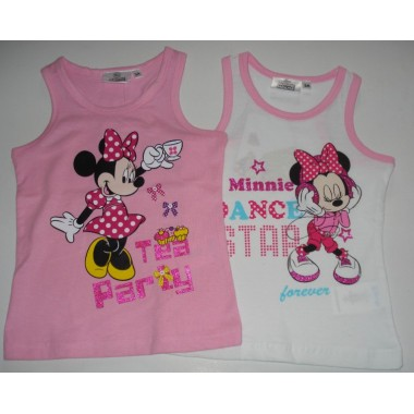 T-Shirt de alças Minnie Mouse