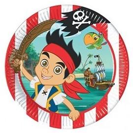 Pratos Jake e os Piratas - 23 cm