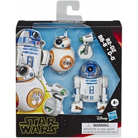 Star Wars - Episodio 9 Pack Deluxe Droides Hasbro