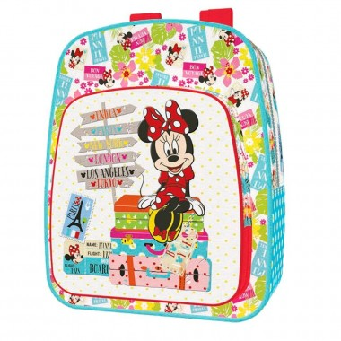 Mochila Escolar adaptável a trolley - Minnie