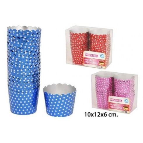 Embalagem de 20 formas - Brilhantes às bolinhas