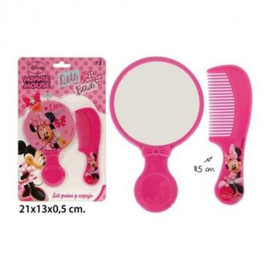 Espelho e pente - Minnie Mouse