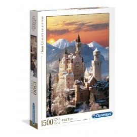 Puzzle 1500 peças - Castelo Neuschwanstein - Clementoni