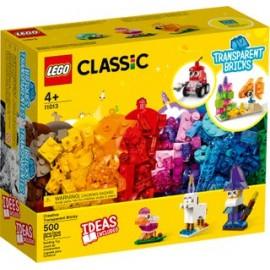 LEGO Classic - Peças Transparentes Criativas