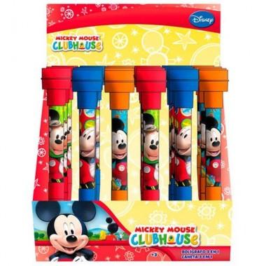 Caneta / Esferográfica 3 em 1 - Mickey Mouse
